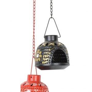 Vincraft Metal Tealight Candle Holder (20 cm x 10 cm x 60 cm)