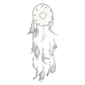 Pearl White Dream Catcher