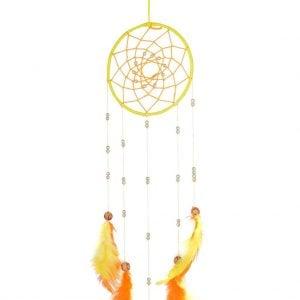 Orange & Yellow Dream Catcher