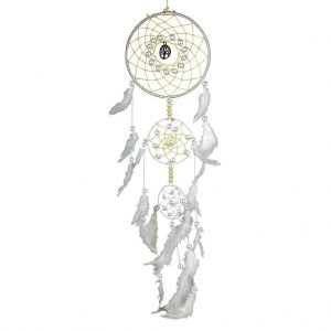 White – Tree Of Life Dream Catcher