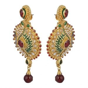 Multi Colour – Peacock Earrings