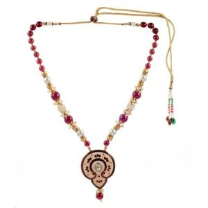 Ethnic Meenakari Necklace Set