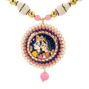 Radha Krishna Pachi Set
