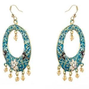 Ethnic Meenakari Earrings