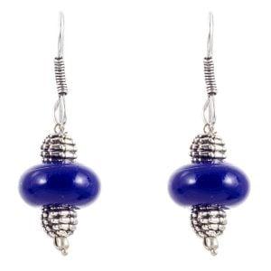 Royal Blue Ethnic Necklace Set