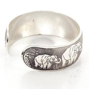 Statement Elephant Bracelet