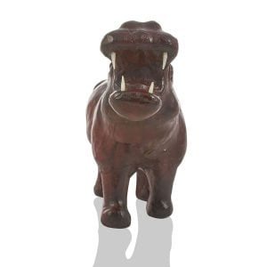 Leather Toy – Hippopotamus