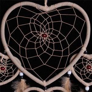 Heart Shaped Dreamcatcher