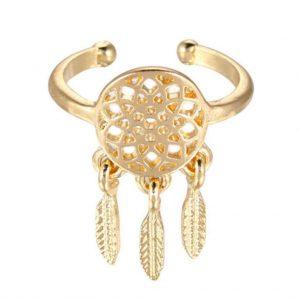 Dreamcatcher Ring Pair