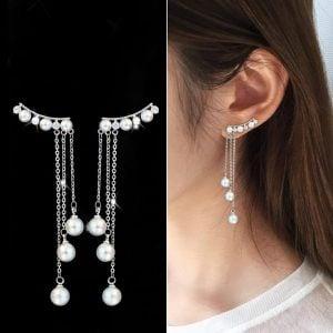 Unique Silver Earring