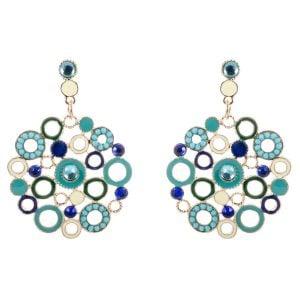 Shades of Blue – Earrings