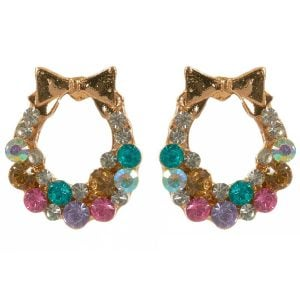 Colorful Bow Earring