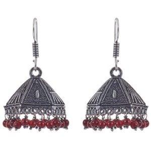 Oxidized Earring Jhumki