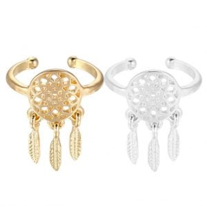Dreamcatcher Ring Pair