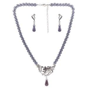 Indian Silver Mangalsutra Set
