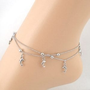 Silver Anklet for Women
