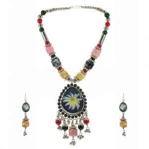 Ethnic Colorful Necklace