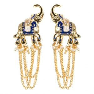 Statement Elephant Earrings