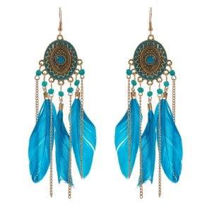 Feather Earrings for Women