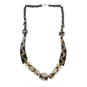 Wooden Black Necklace
