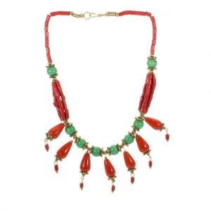 Indo-Western Necklace