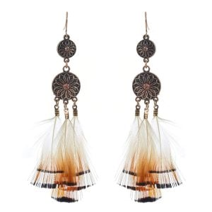 Beautiful Feather Earring