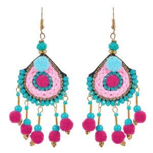 Funky Tassel Earrings