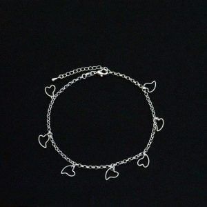 Cute Silver Anklet