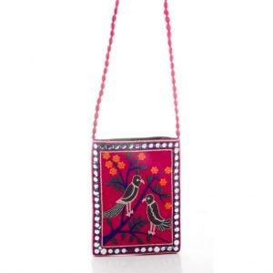 Ethnic Rajasthani Mirror Jhola
