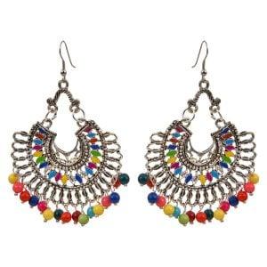 Chandbali Earrings Colourful Chandbalis