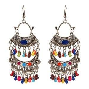 Bohemian Jewellery Oxidize Earring