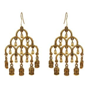 Bohemian Jewellery Buddha Earrings
