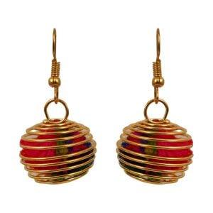 Casual Jewellery Pom Pom Earrings