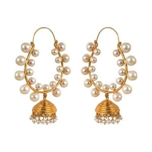 Indian Jewellery Pearl Earrings