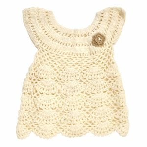 Baby Clothes Crochet Dress for Baby Girl