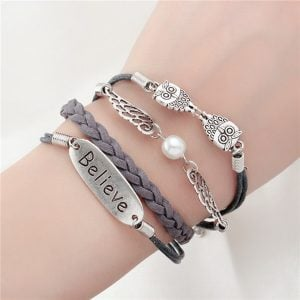 Multi Layer Bracelet Charm